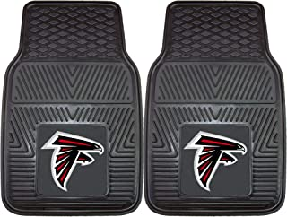 "product image for Fanmats 8885 NFL Atlanta Falcons Vinyl Heavy Duty Car Mat Black, 18""x27"""