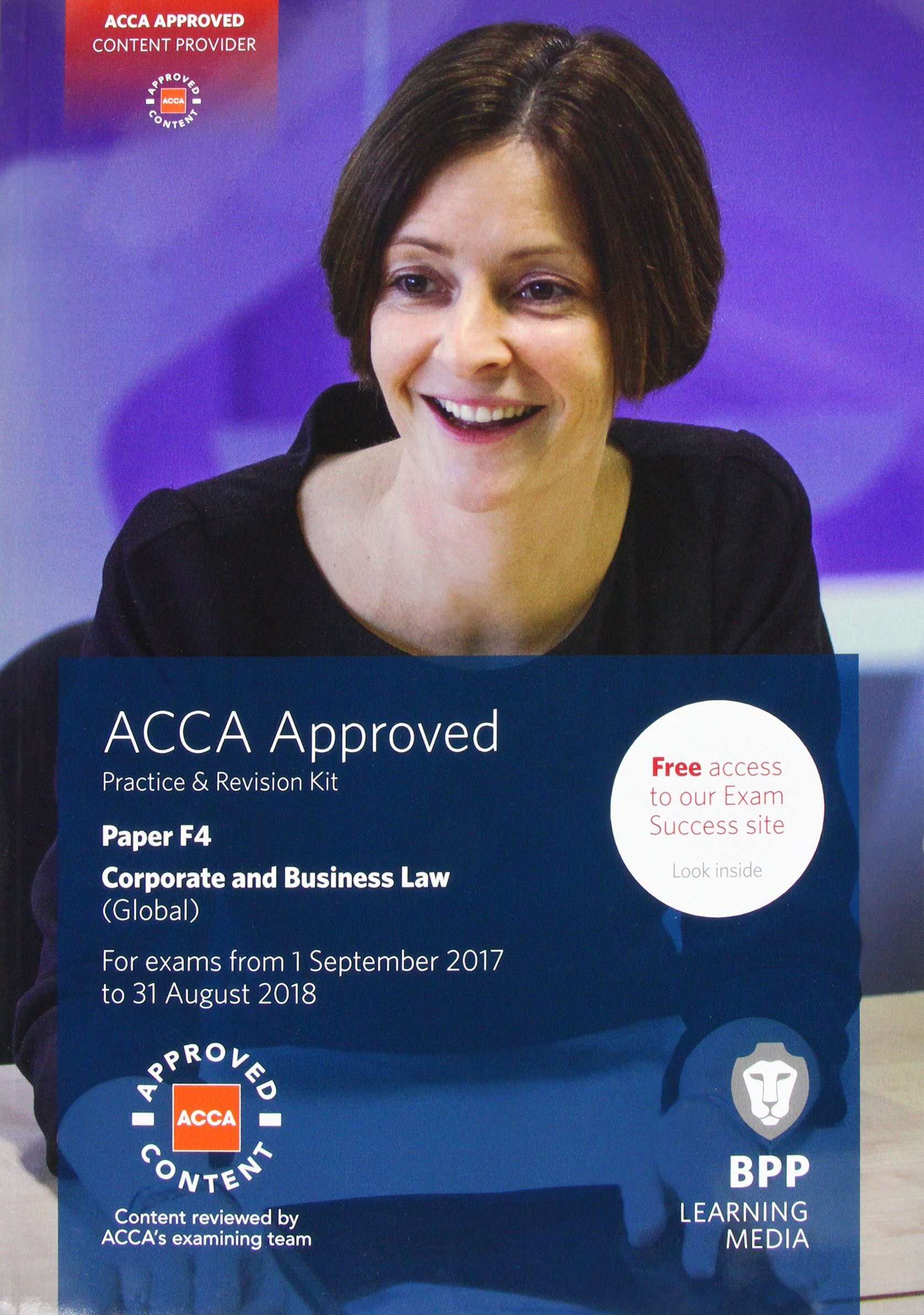 ACCA F4 Corporate And Business Law  Global   Practice And Revision Kit