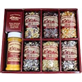 Amish Country Popcorn | Popcorn Kernel Variety Set with ButterSalt | 6 - 4 oz Bags | Old Fashioned with Recipe Guide
