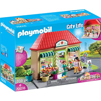 PLAYMOBIL My Flower Shop Playset: Toys & Games