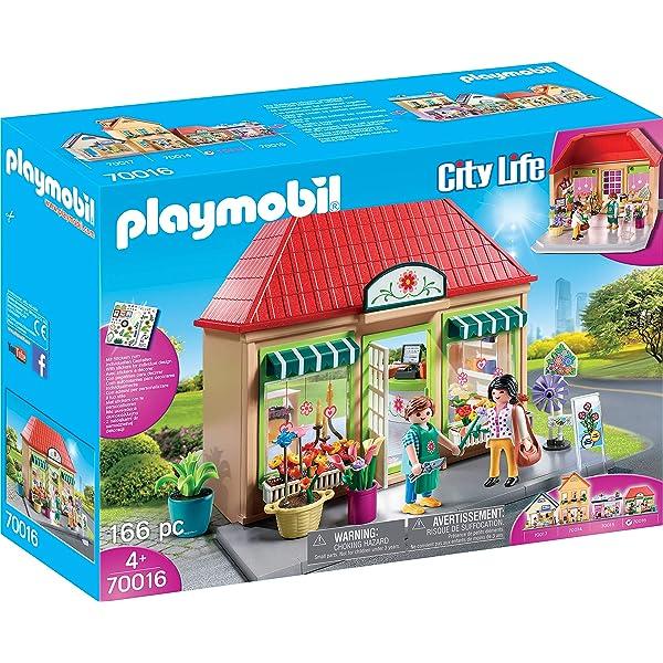 PLAYMOBIL City Life Mi Floristería, A partir de 4 años ...