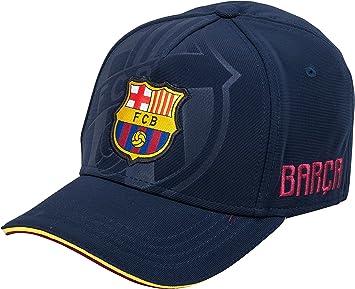 Fc Barcelone Barca – Gorra Oficial, Talla Ajustable: Amazon.es ...