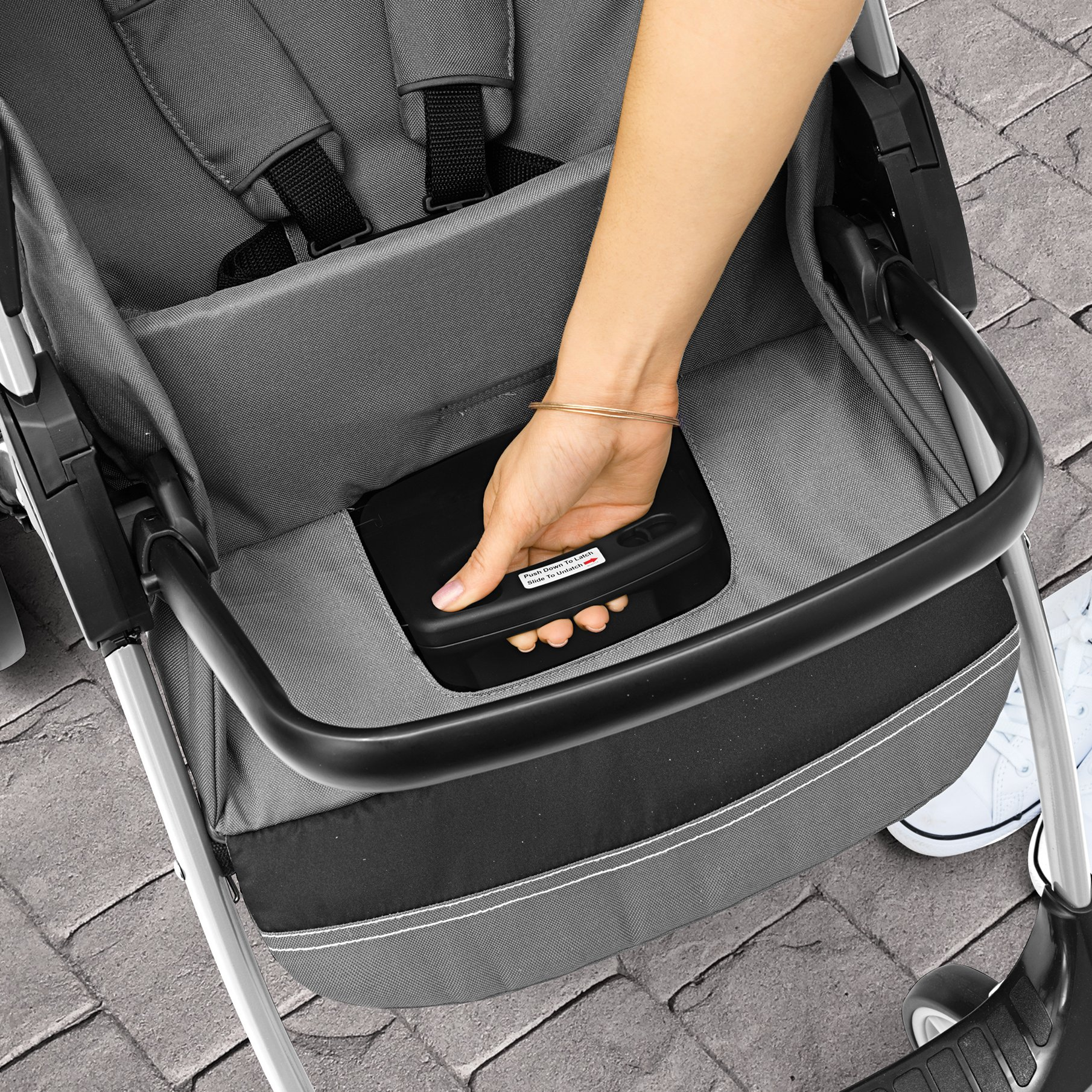 Chicco Mini Bravo Sport Travel System, Carbon by Chicco (Image #6)