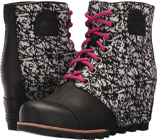 Sorel Women's PDX Wedge Black Boot