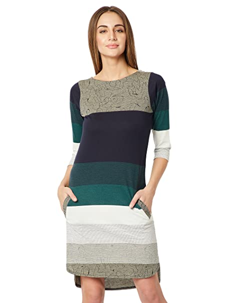 ace2b7c1919 Miss Chase Women s Shift Mini Dress (MCSS18D11-54-178 Multicolor X-Small)