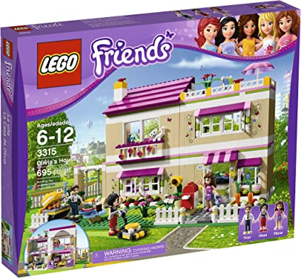 Lego Friends Olivia S House 3315 Toys Games