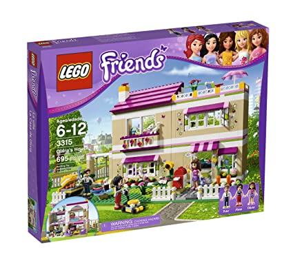 Amazoncom Lego Friends Olivias House 3315 Discontinued By