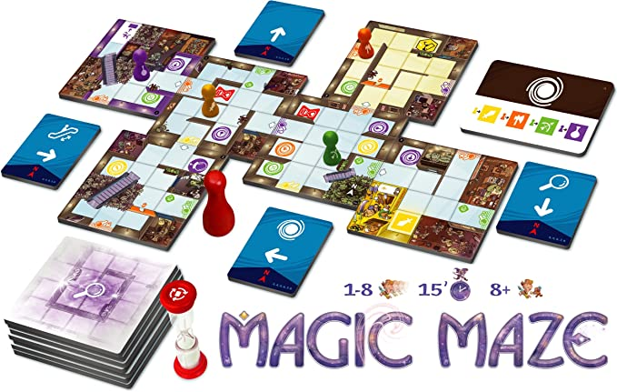 Tomatoes Games Magic Maze, Multicolor (8437016497128-0): Amazon.es: Juguetes y juegos