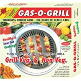 GAS O GRILL, GRILL PAN- STOVE TOP INDOOR/OUTDOOR SMOKELESS BBQ GRILL BY STEEMO
