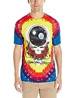 Liquid Blue Men's Grateful Dead Space Your Face Short Sleeve T-Shirt