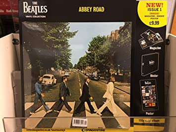 The Beatles Vinyl Collection Abbey Road Album Issue 1 By DeAgostini