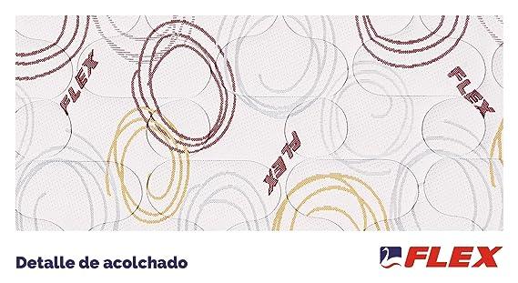 FLEX Colchón juvenil muelles Junior Visco A, 90 x 190 cm: Amazon.es: Hogar
