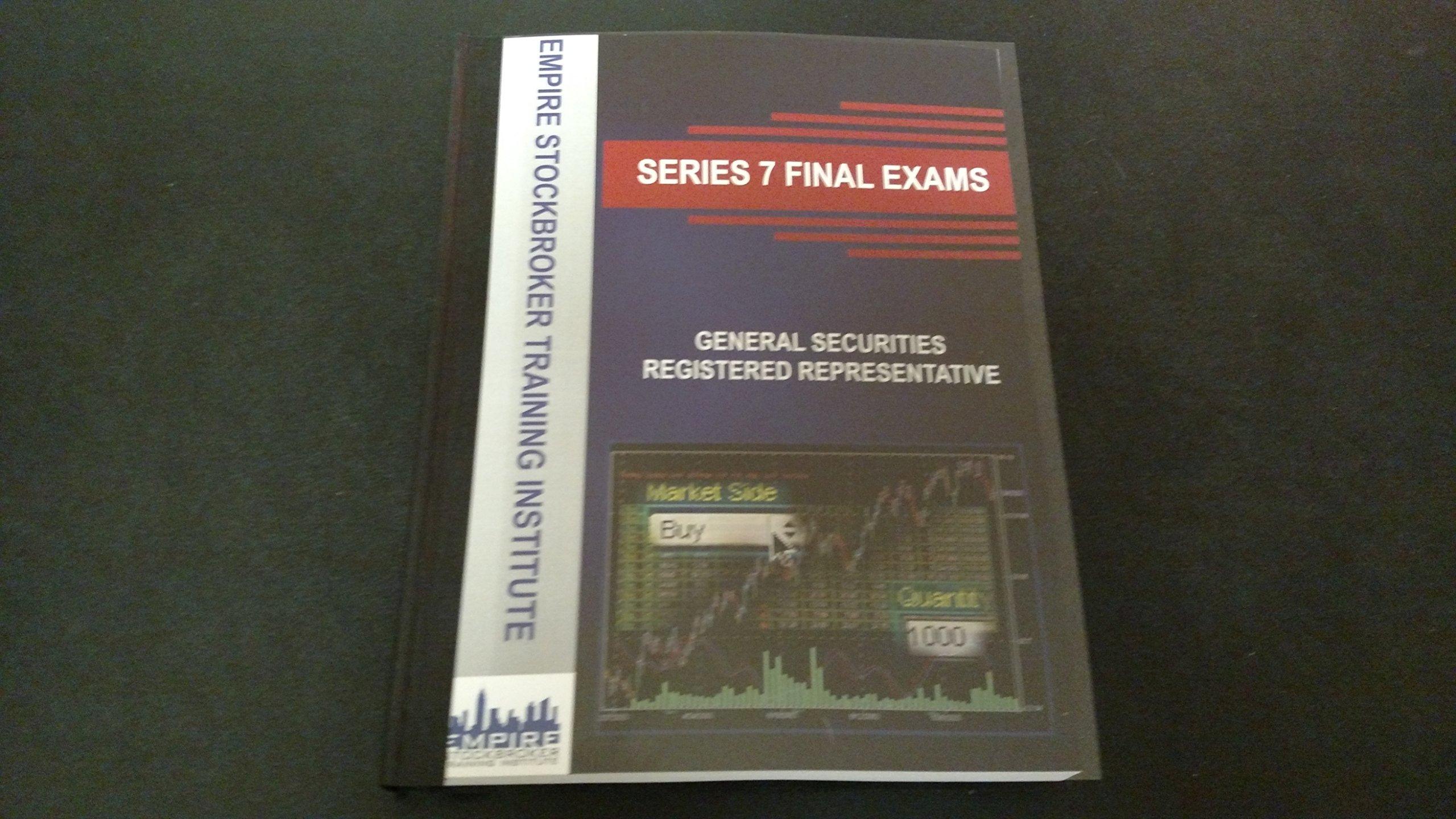 Series 7 Exam Course Textbook and Final Exam Book: Steven M Rice, Rueben  Martinez: 9780986089749: Amazon.com: Books