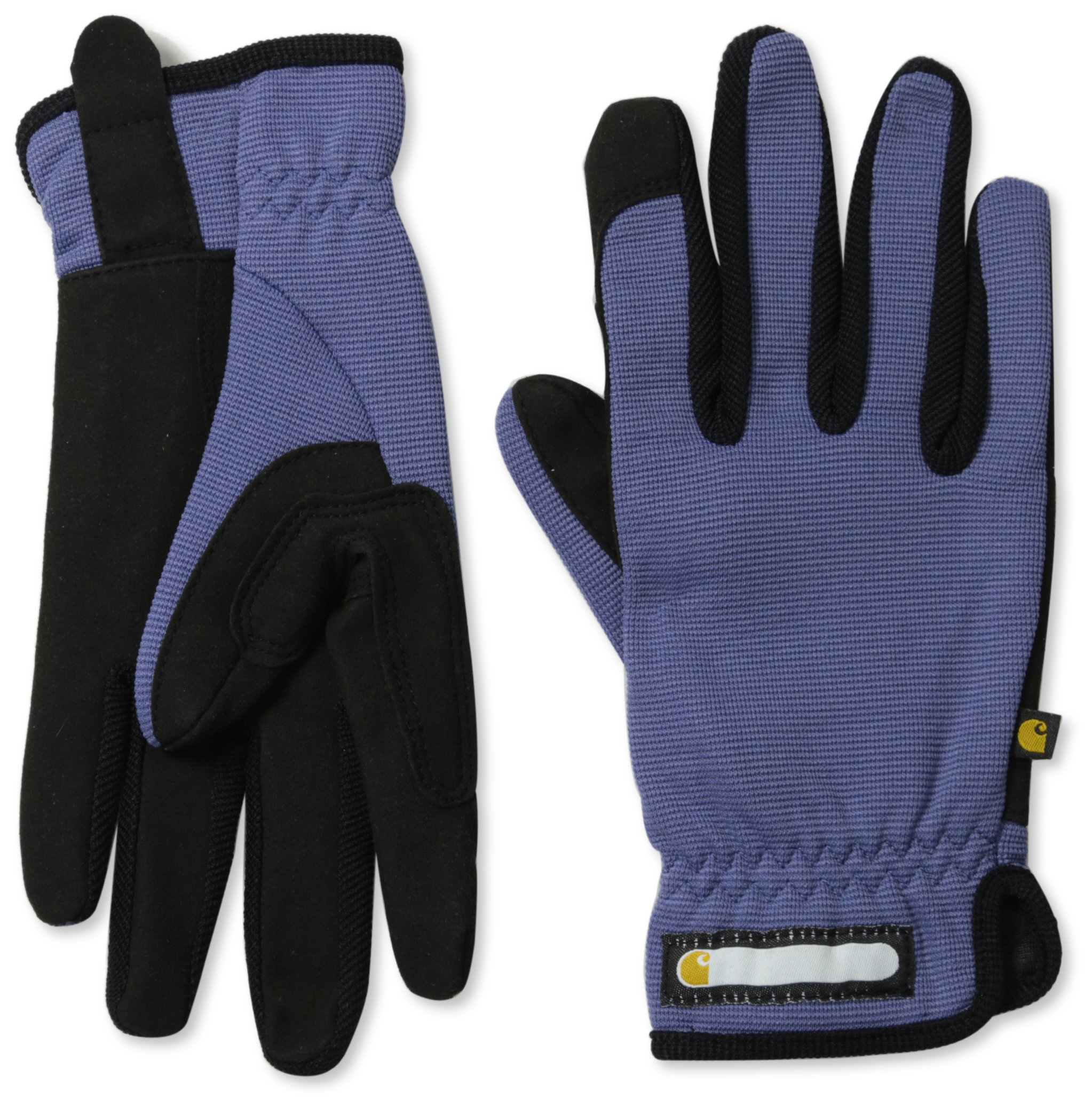 Carhartt Women's Work-Flex Breathable Spandex Work Glove, Blue Dusk Black, Small by Carhartt