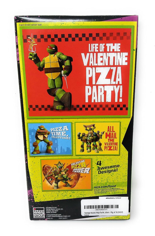 Teenage Mutant Ninja Turtles Pizza tarjetas de San Valentín ...
