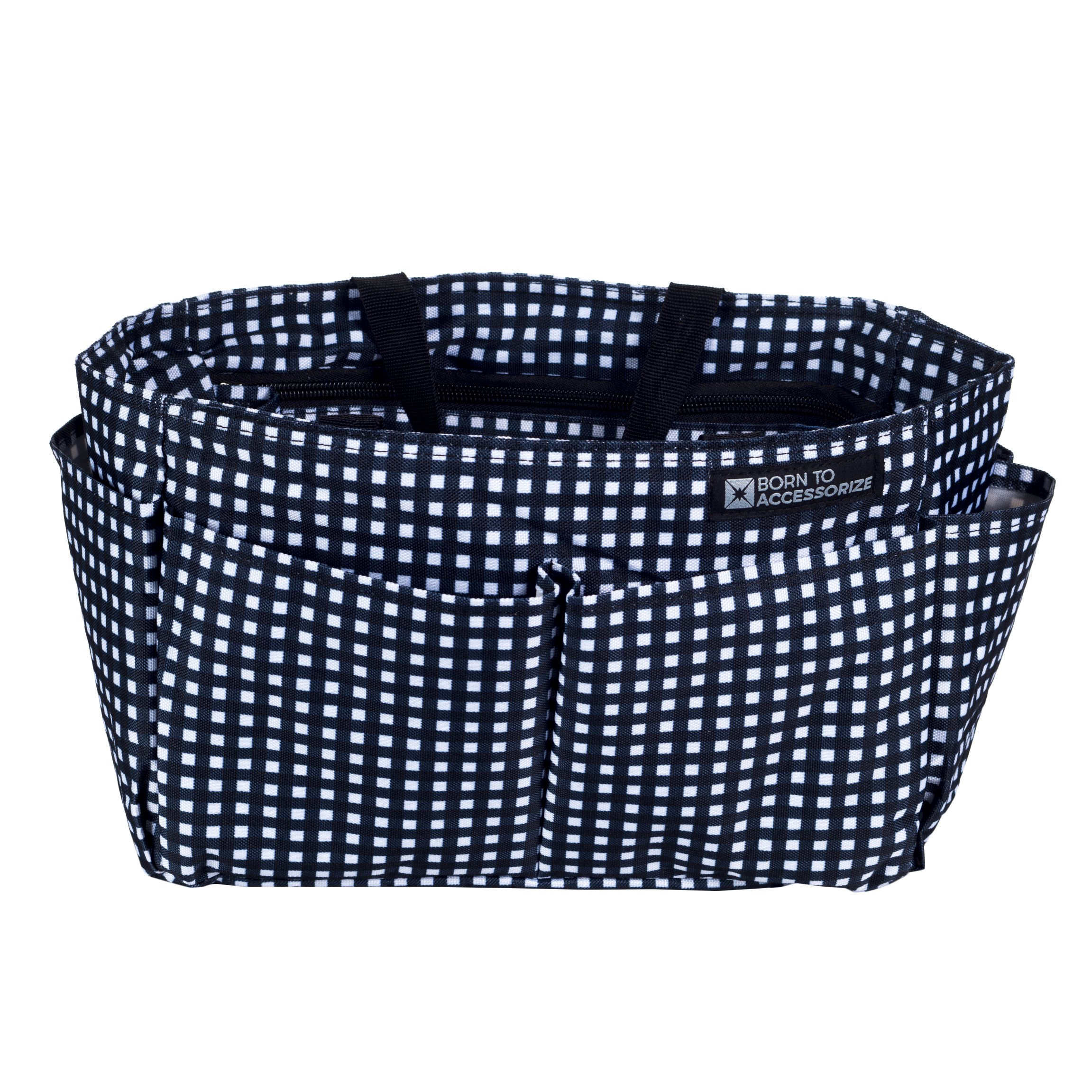 Premium Handbag Organizer - Perfect Purse Insert to Keep Everything Neat in Style (LV_L_Checkers) by Born to Accessorize