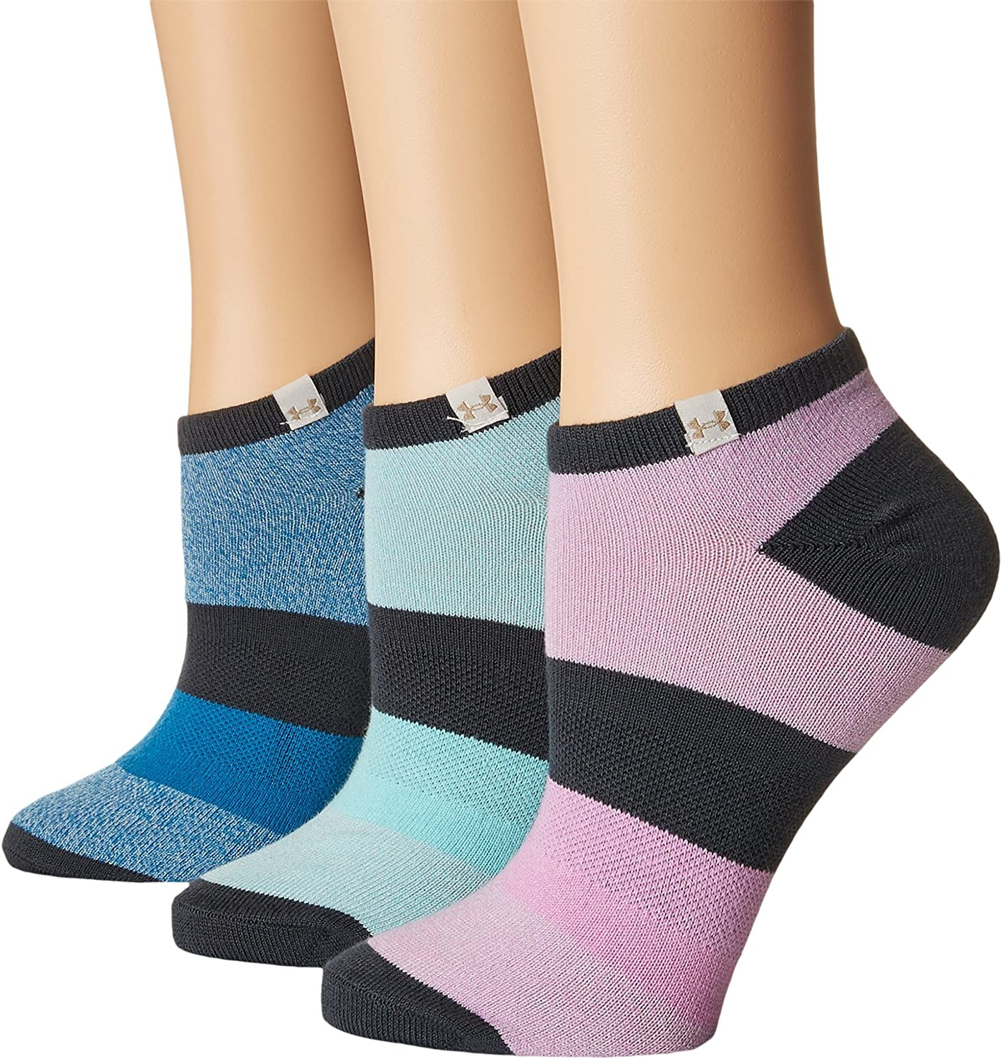 Under Armour Essential Comfort No Show Socks 3 Pairs