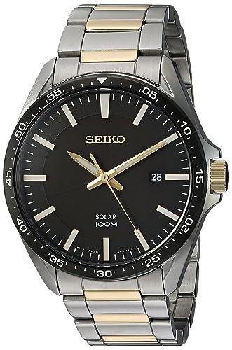 Amazon.com: Seiko - Relojes deportivos para hombre, cuarzo ...