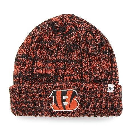 Amazon.com    47 NFL Cincinnati Bengals Women s Prima Cuff Knit ... fb073163d280
