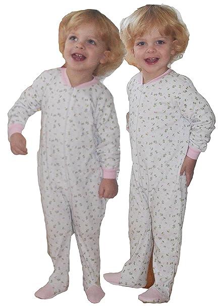 Baby Rizo Pijama einteilig Mono Dormir Pelele Cómodo y caliente en 2 colores rosa: Amazon.es: Ropa y accesorios