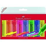 Faber-Castell 154662 Surligneur TEXTLINER 1546 étui de 8 (6+2 gratuits)