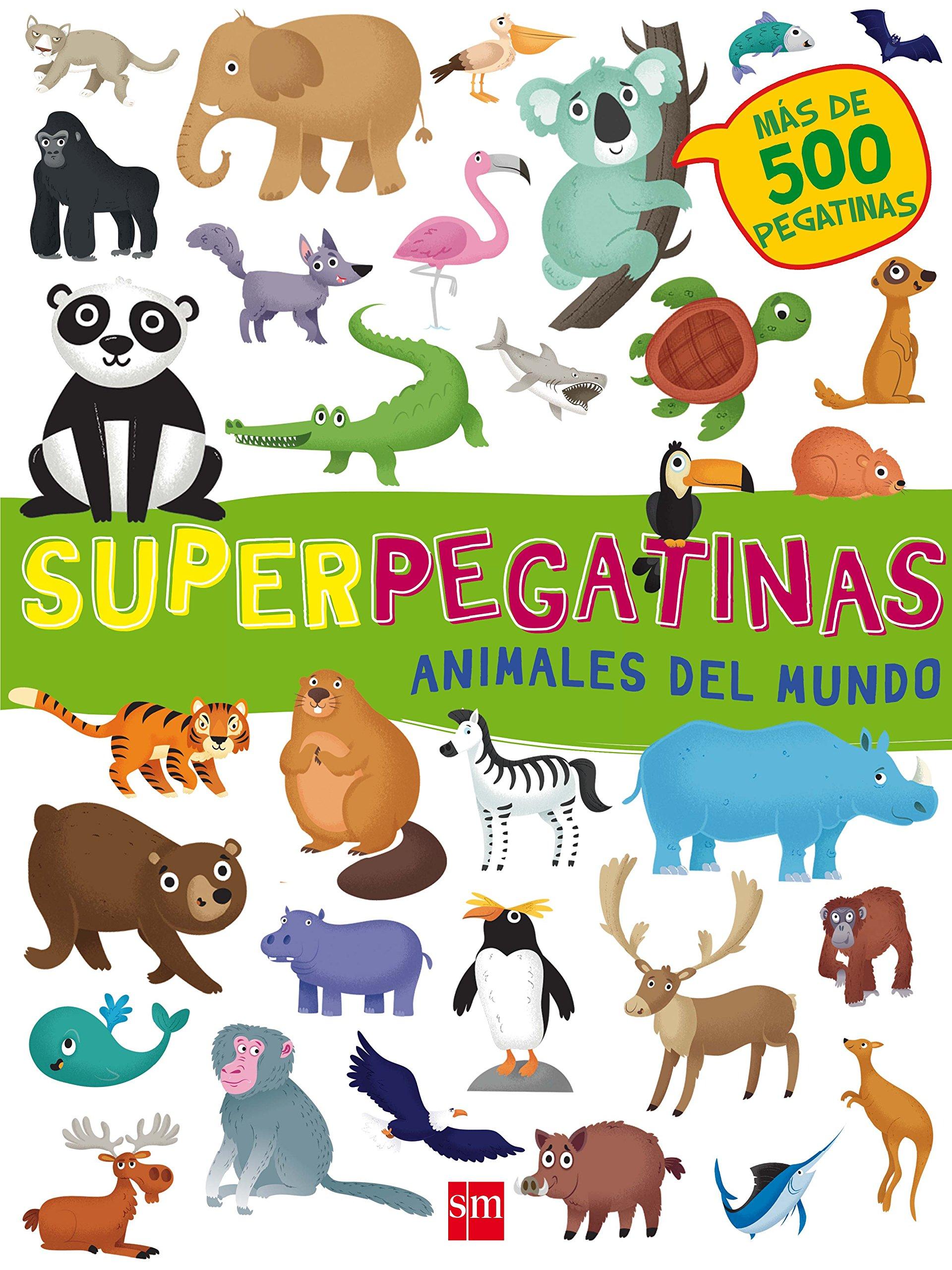 Animales del mundo (Pegatinas): Amazon.es: Libri, De Agostini, Cerato, Mattia, Cabanillas Resino, Marta: Libros