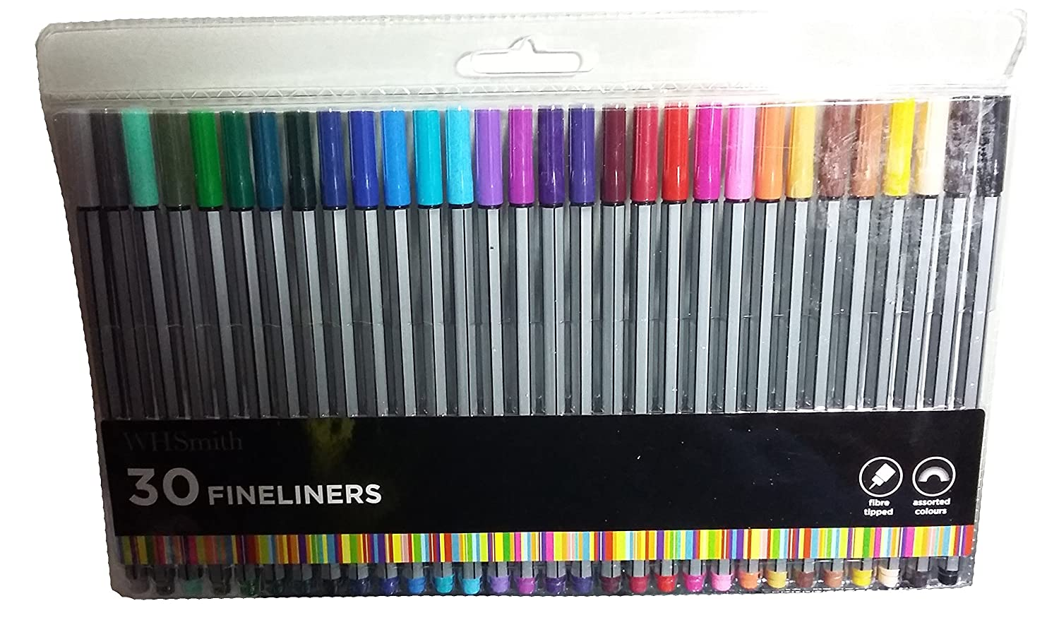 Whsmith 30 Fineliners Amazon Co Uk Office Products