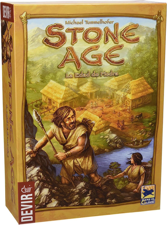 Devir - Stone Age, Juego de Tablero (222746): Amazon.es: Juguetes y juegos