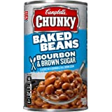 Campbell's Chunky Baked Beans, Bourbon & Brown Sugar, 20.5 Ounce (Pack of 12)