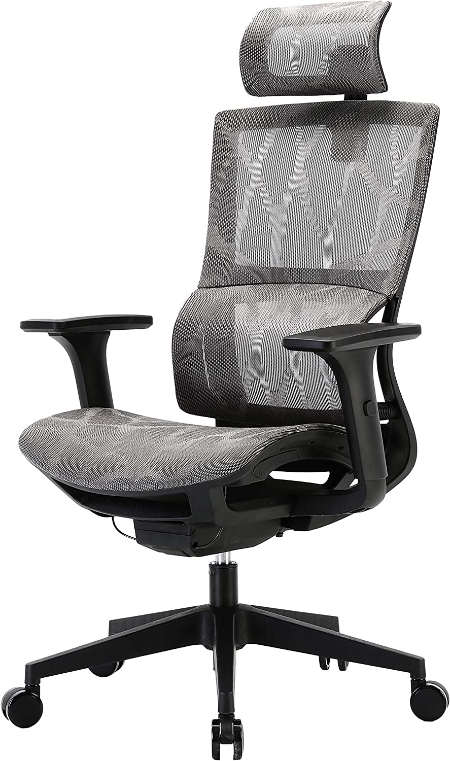 XUER Ergonomic Office Chair with Cozy Lumbar Support and Adjustable 3D Armrest