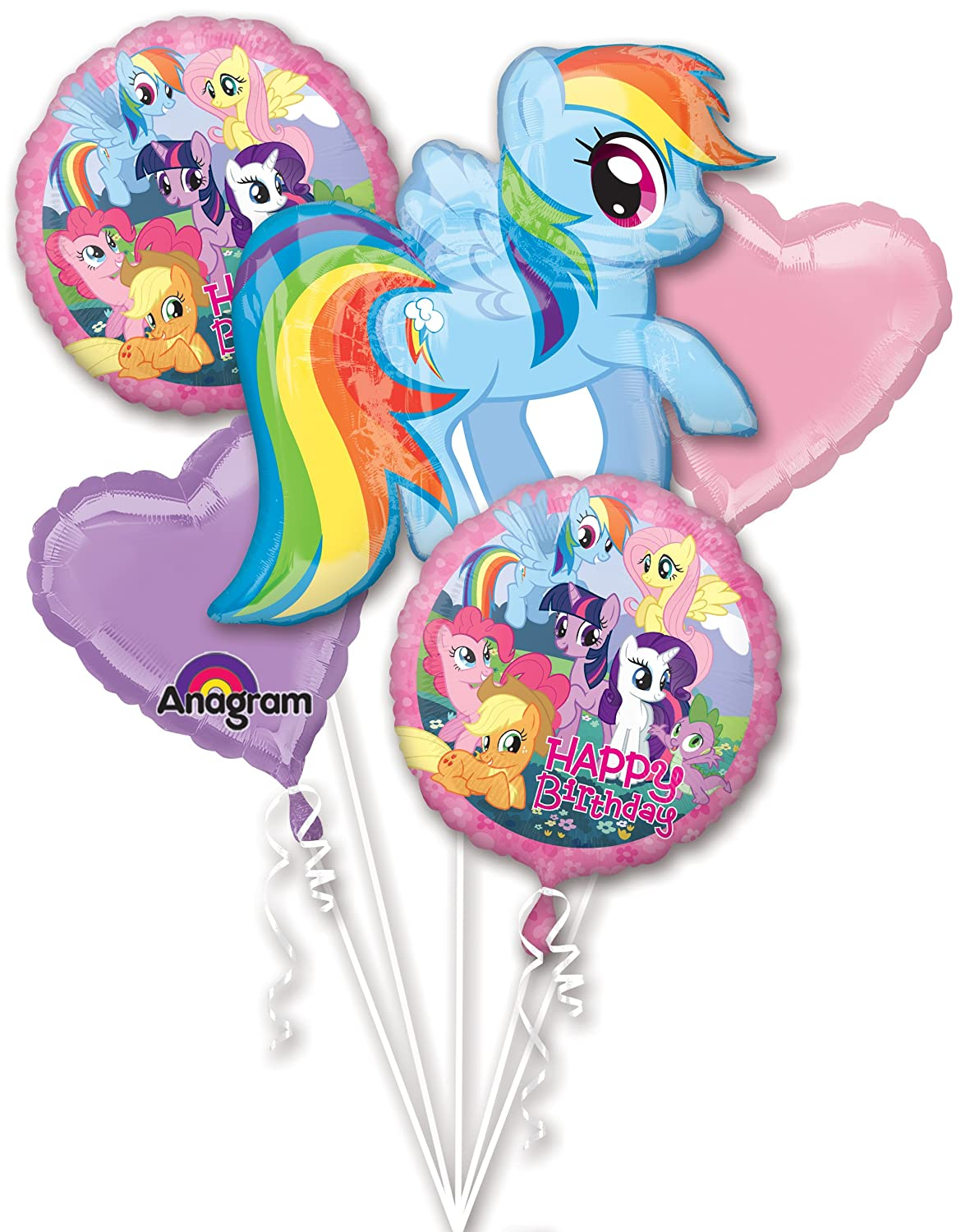 Anagram International My Little Pony Birthday Bouquet, Multicolor 2642201.0