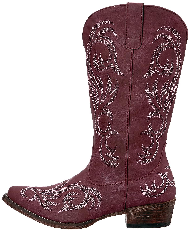 Roper Women's Riley Western Boot B06WWJZ953 10.5 D US|Red