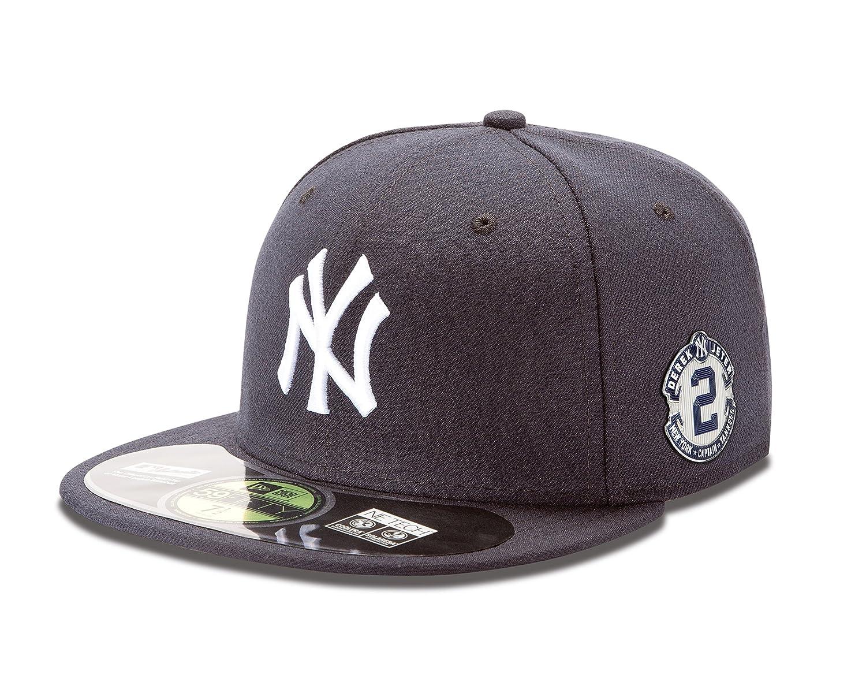 0ce899a27f924 Amazon.com   MLB New York Yankees On Field AC Derek Jeter Farewell 59Fifty  Cap