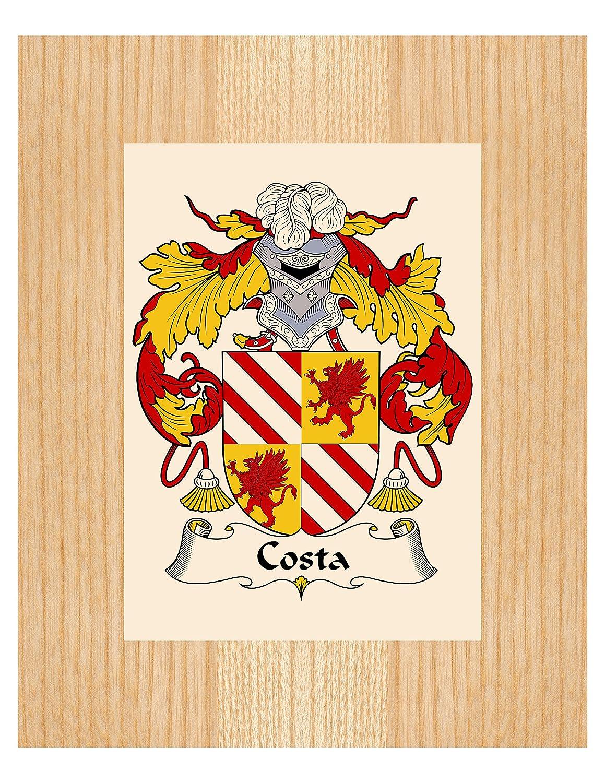 Perchero de pared de Costa de armas/Costa familia escudo - 8 ...