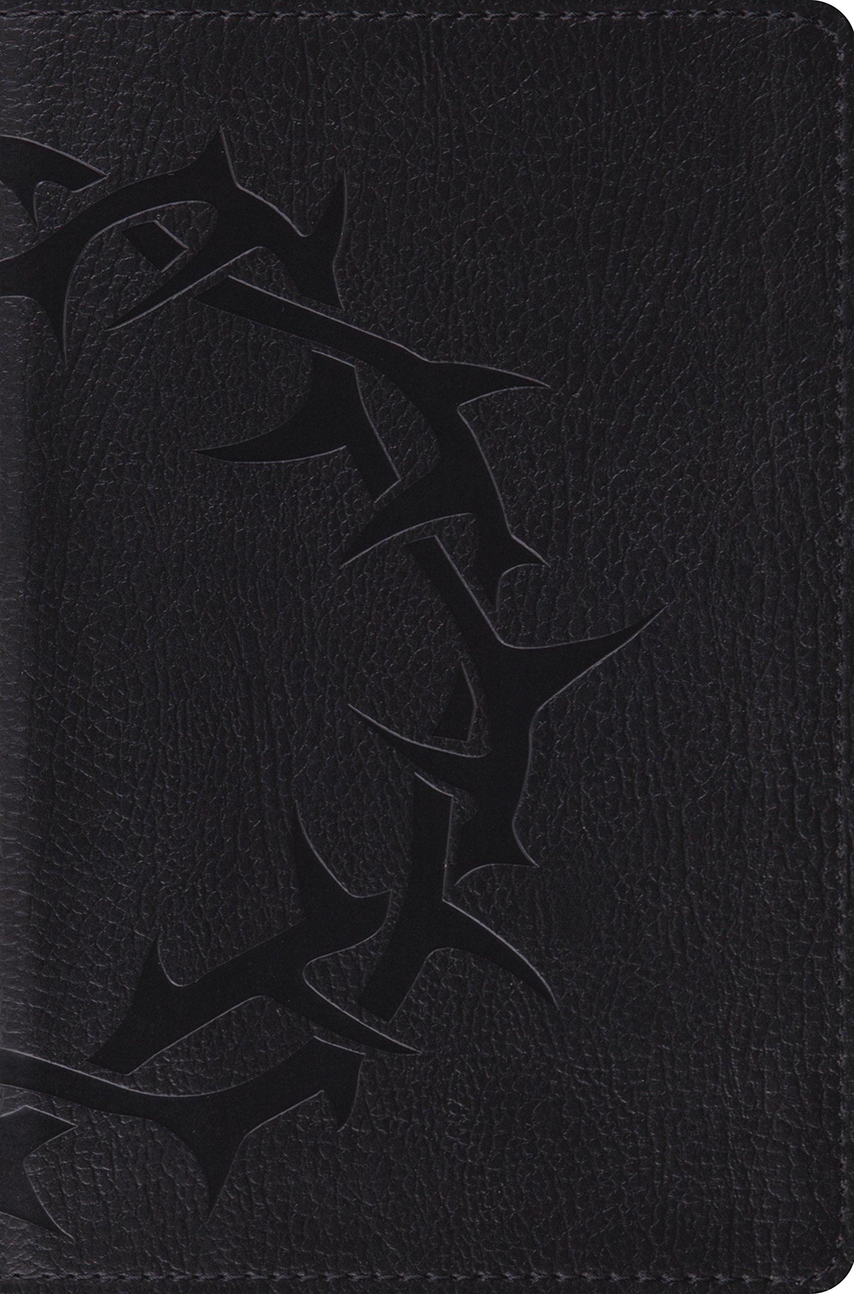 ESV Compact Bible (TruTone, Charcoal, Crown Design): Amazon