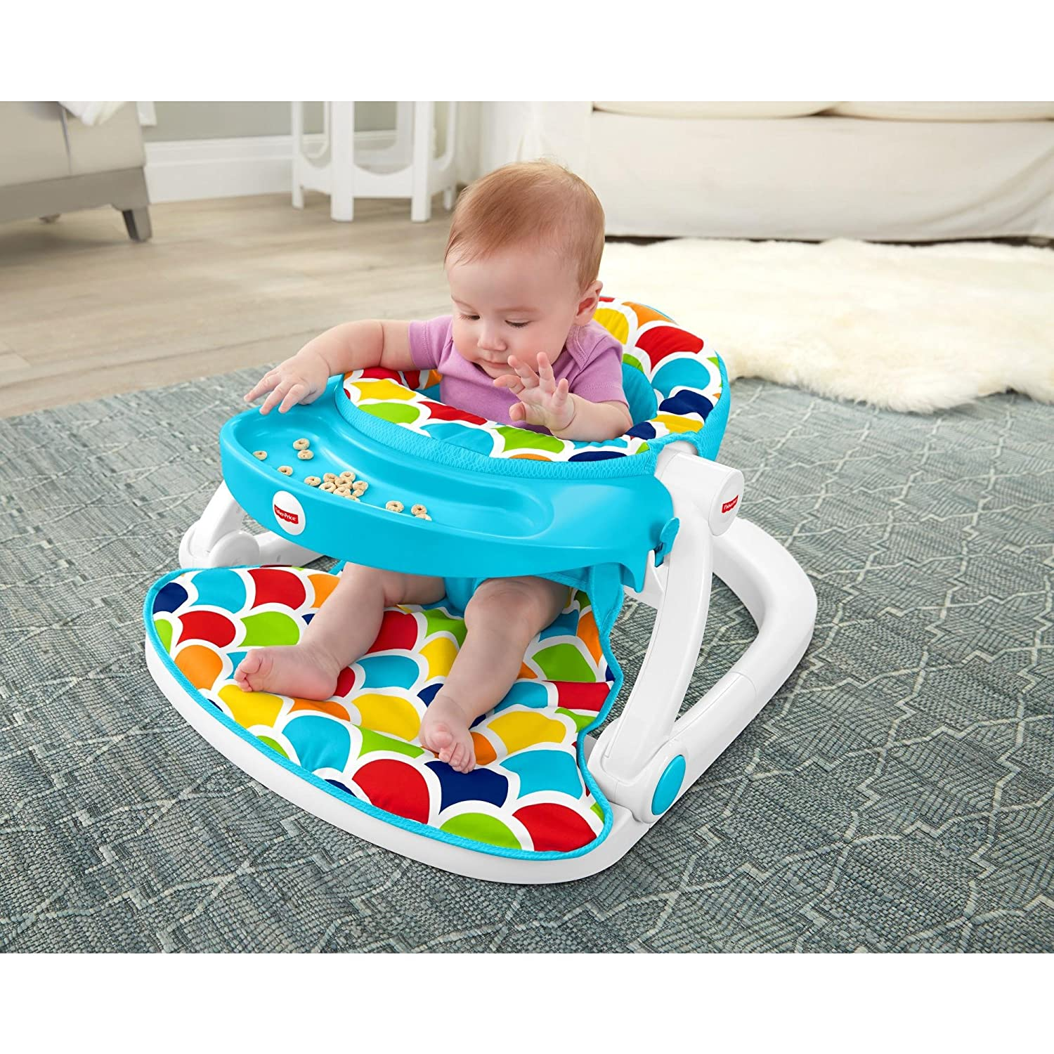 Buy Fisher Price Sit Me Up Baby Floor Seat With Toy Tray line at