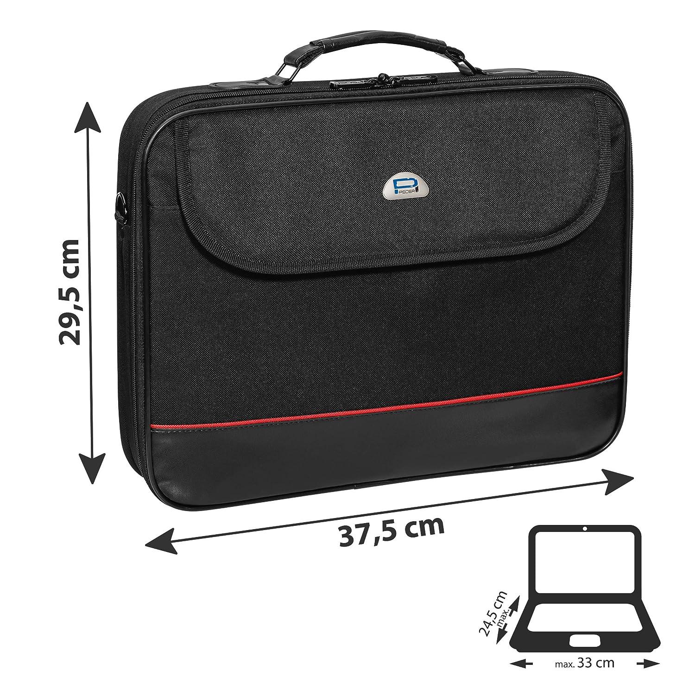 schwarz Pedea Trendline Notebooktasche 39,6 cm 15,6 Zoll