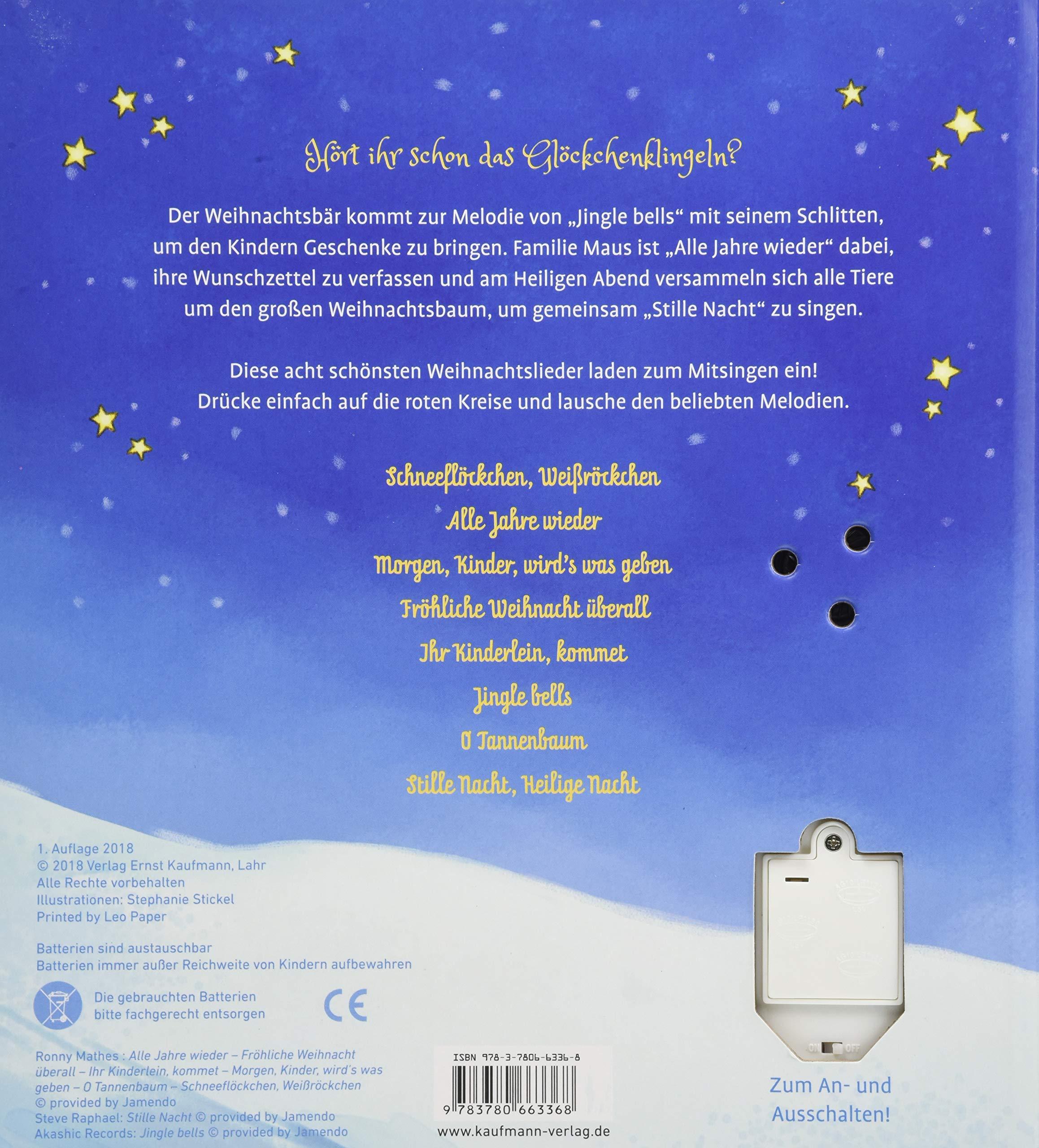 Meine allerschönsten Weihnachtslieder: Amazon.de: Stephanie Stickel ...
