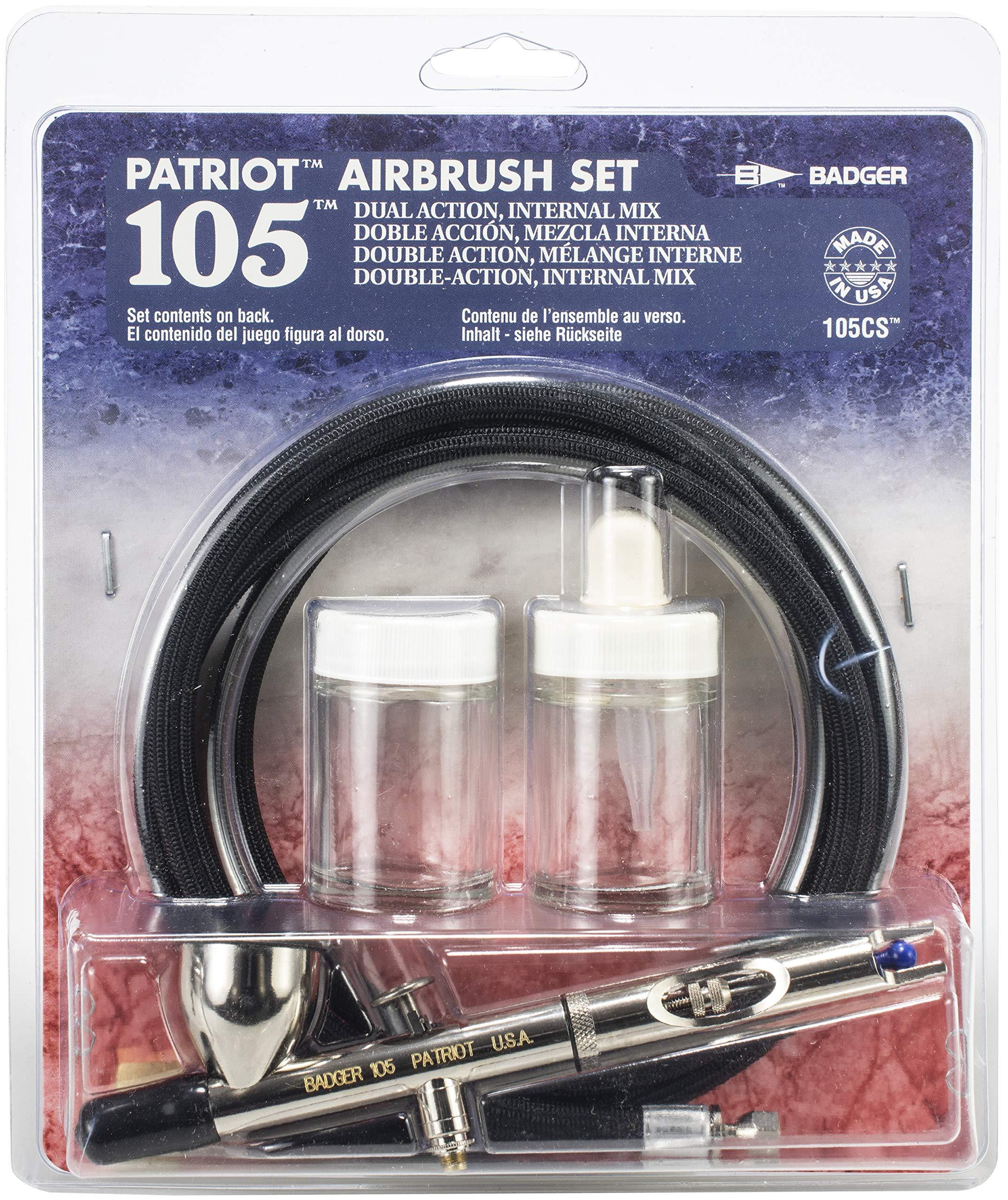 airbrush set patriot clam shell