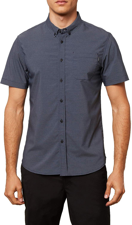 ONEILL - Camisa de manga corta con botones para hombre: Amazon.es: Ropa y accesorios