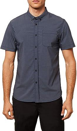 ONeill Hombre SP8104100 con botones Manga corta camisa: Amazon.es: Ropa y accesorios