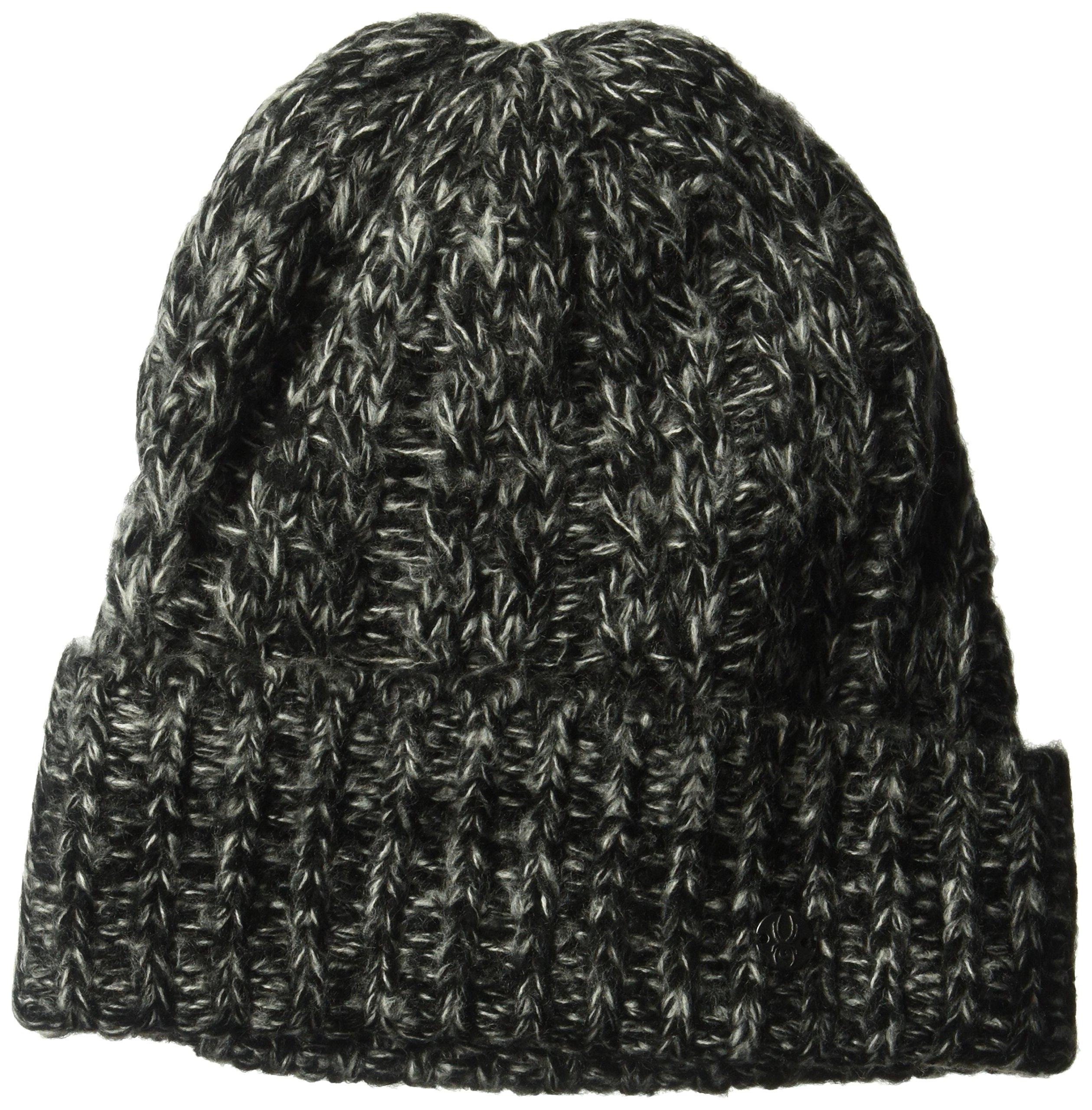 Spyder Women's Entwine Hat, Black/Marshmallow, One Size