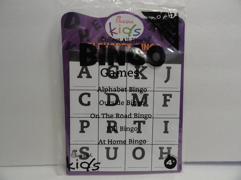 ふるさと納税 チックフィレイKids Alphabet B00HGZ20PA Alphabet Bingo Bingo B00HGZ20PA, イズミシ:4243e1de --- realcalcados.com.br
