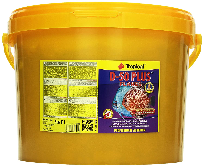 Tropical D de 50 Plus farbförd erndes Copo Forro para symphysodon, 1er Pack (1 x 11 l): Amazon.es: Productos para mascotas