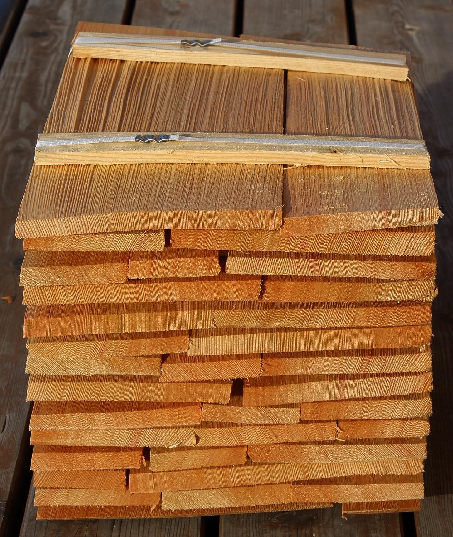Bundinhalt 8 Breitenmeter Holzschindeln L/ärche 40cm