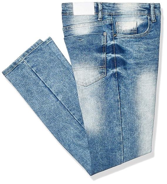 Southpole Mens Flex Stretch Basic Skinny Fit Denim Pants