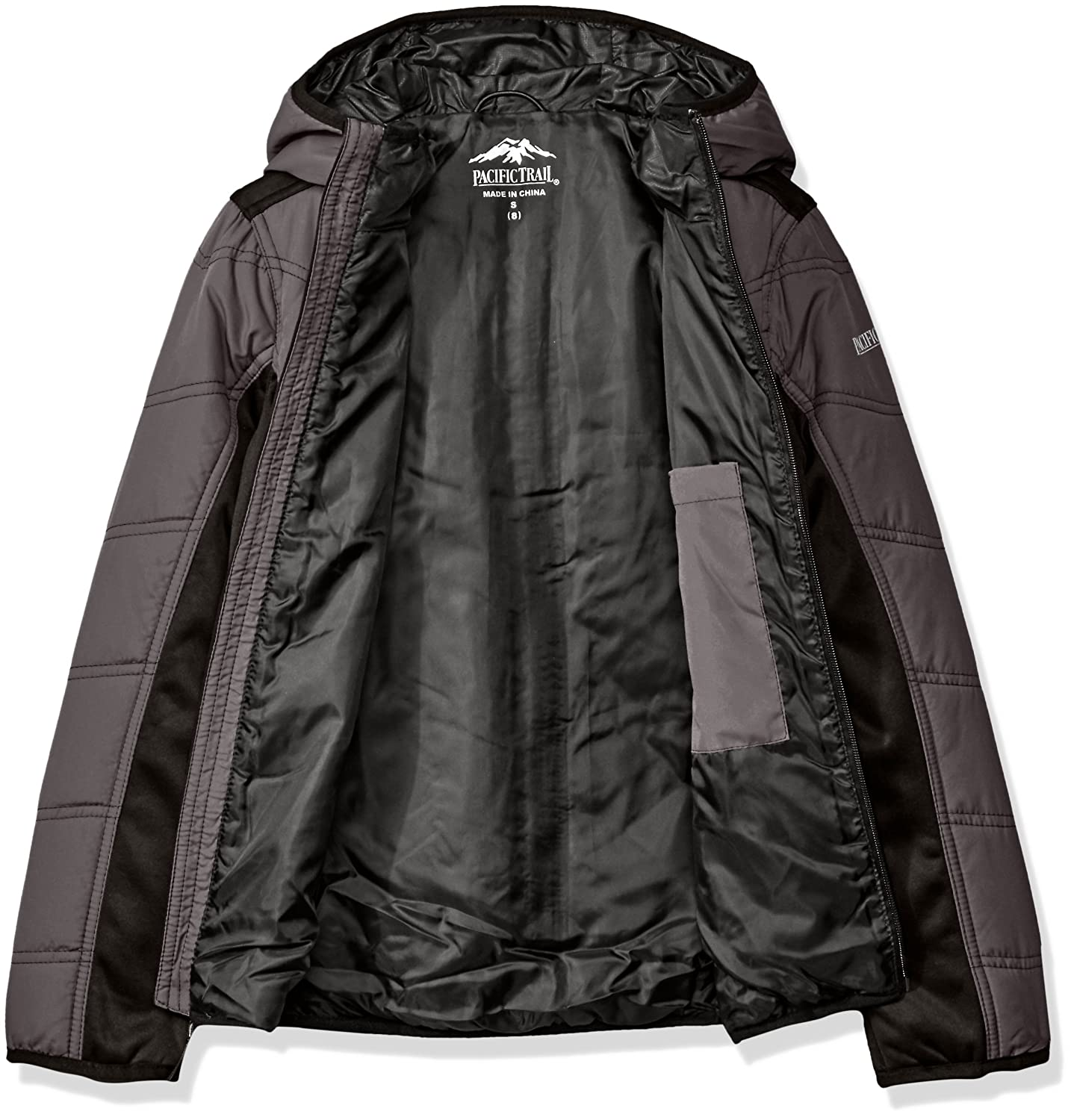 a3bd1f61f Amazon.com  Pacific Trail Boys  Mid Weight Soft Shell Jacket  Clothing