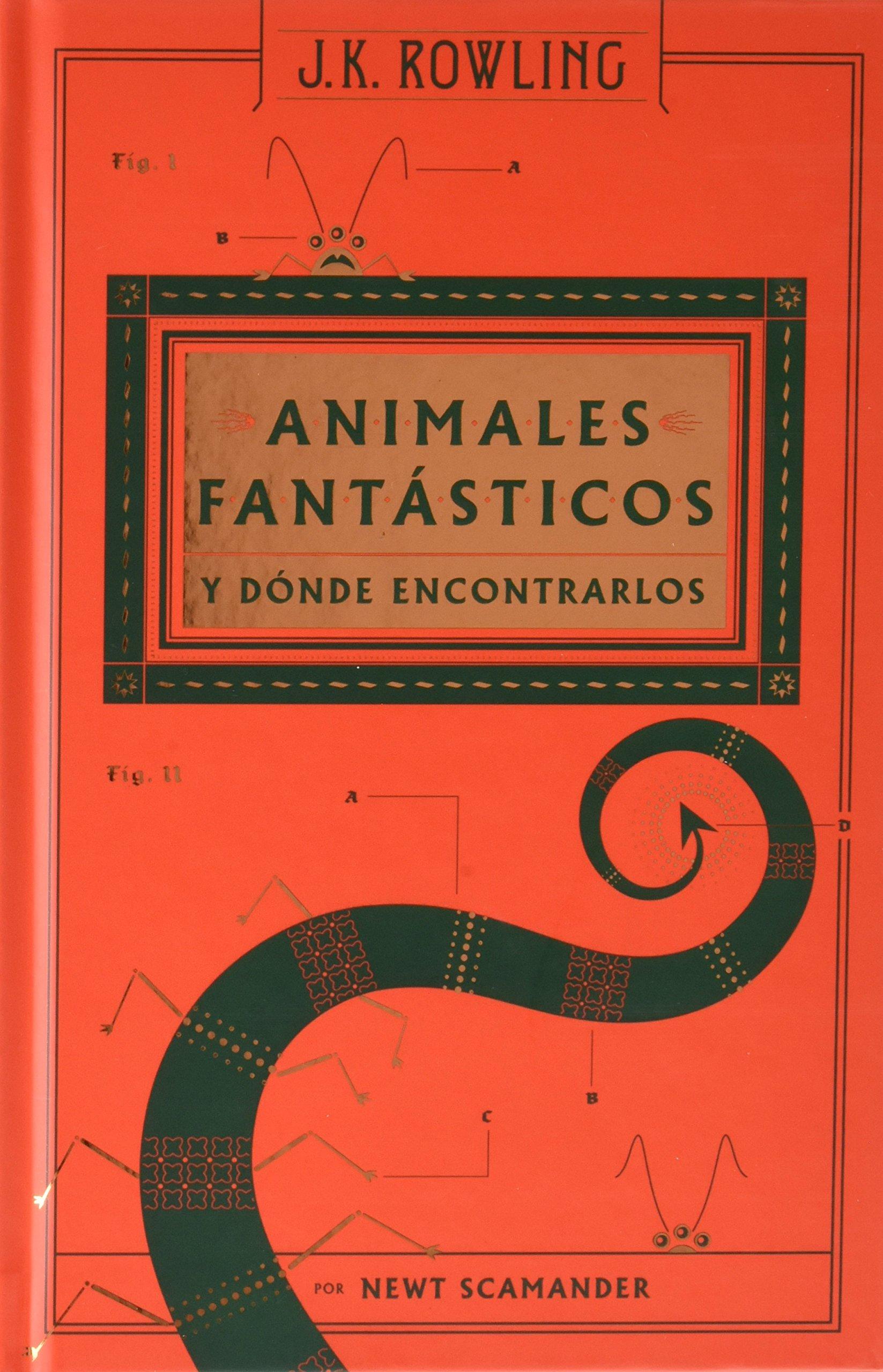 Biblioteca Hogwarts estuche : Animales fantásticos y dónde ...