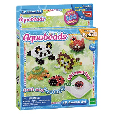 Aquabeads 3D Animal Set: Toys & Games