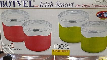 Buy OZ STORE BOTVEL IRISH SMART 800 ML JAR SET OF 2 MRP 699 Online